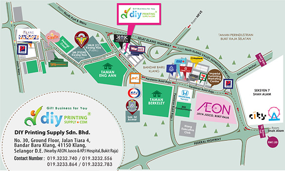 How to Get to DIY Printing Supply Sdn. Bhd.? Download & Print This Map