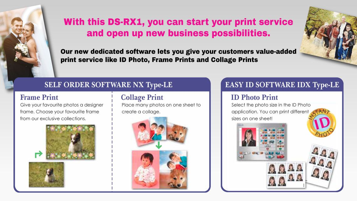 DNP FotoLusio Photo Printer for Photo Printing Business