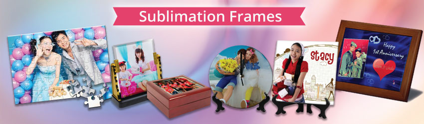 sublimation frames