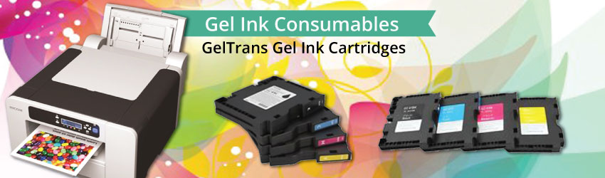GelTrans pigment ink systems combine industry's highest quality inks with software & support for the total solution for printing brilliant pigment transfers.