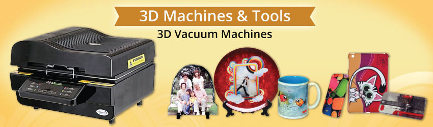 3D vacuum sublimation machine that allow you to full print your sublimation blanks with vacuum technology. Easy to use & free training now. Get freebies now!