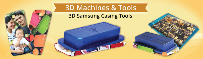 Good quality material with aluminum alloy to protect the shape of your 3D Samsung Phone Casing during the vacuum & heating process. See tips from expert here.
