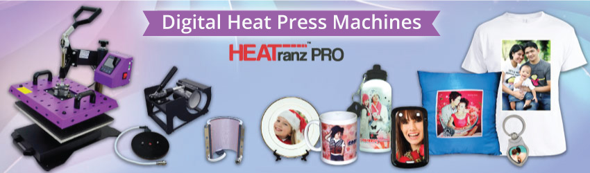 <p>Get flat heat press machine mainly for your small T-shirt printing business and other 'flat' imprintable blanks such as puzzles, cushions, tiles etc. Grab now.</p>