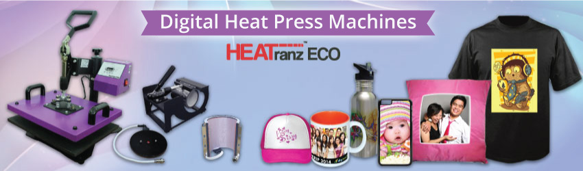 Supply variety digital combo heat press machines for your one stop gift printing business. Invest only one machine and print more than 200 DIY gift items now.