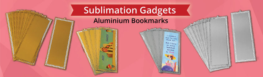 Supply sublimation aluminium bookmarks & cards for heat transfer printing. Able to print both sideds. Creative gifts to promote to book lovers. Customize now.
