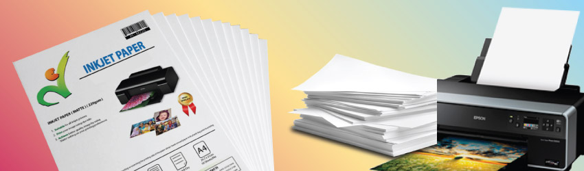<p>Choose from a variety inkjet papers such as sizes, weights, matt, satin or glossy finishes. Buy more free more from Malaysia inkjet paper supplier. Ready stock.</p>