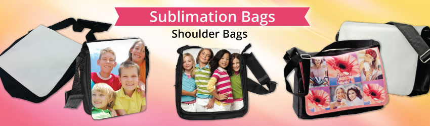 Supply shoulder bag for sublimation printing. On the front cover of our shoulder bag, you can print any picture and make it a just-one-piece in the world.