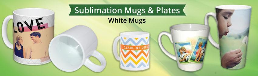White coated mug (grade A & grabe B) is also called sublimation mug, which is standard ceramic glossy mug made with high grade porcelain stone. Microwave safe.