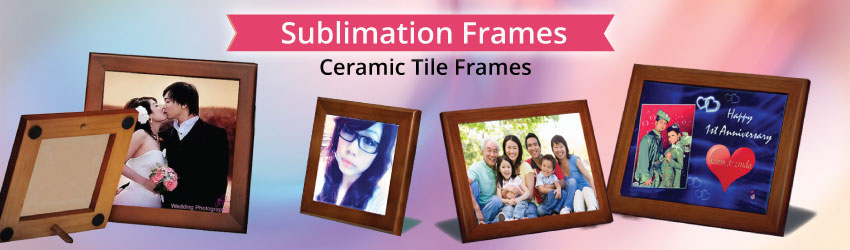 Supply tile frames for your ceramic tile. After print your tile, remember to place it with nice frames. Special & stable frames for big or small tiles. Buy now.