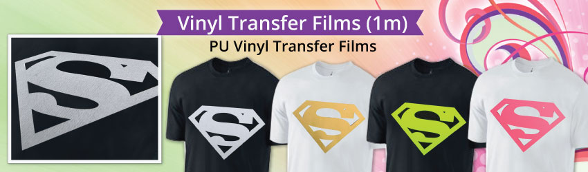 PU Vinyl Transfer Film is thin and stretchable, and has a low tack, self adhesive carrier, making it easier to peel and weed. Suitable for all kinds of fabrics.