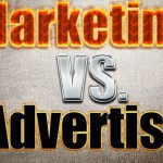 Marketing VS Advertising; The Definition and The Differences