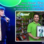 Danny Wan Visit DIYPrintingSupply.Com Showroom