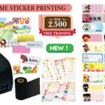 Special Promo for Name Sticker & Label Printing Package