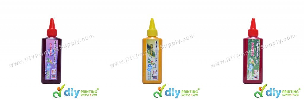 Difference Between Dyes Ink, Sublimation Ink and Pigment Ink