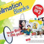 Sublimation Blanks Year End Promotion @ 25% Discount Off
