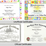 Special Guidelines in Certificate Printing