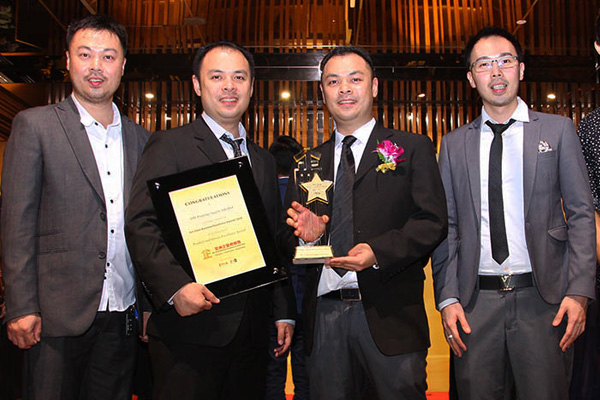 All Smiles at the Sin Chew Business Excellence Awards 2016