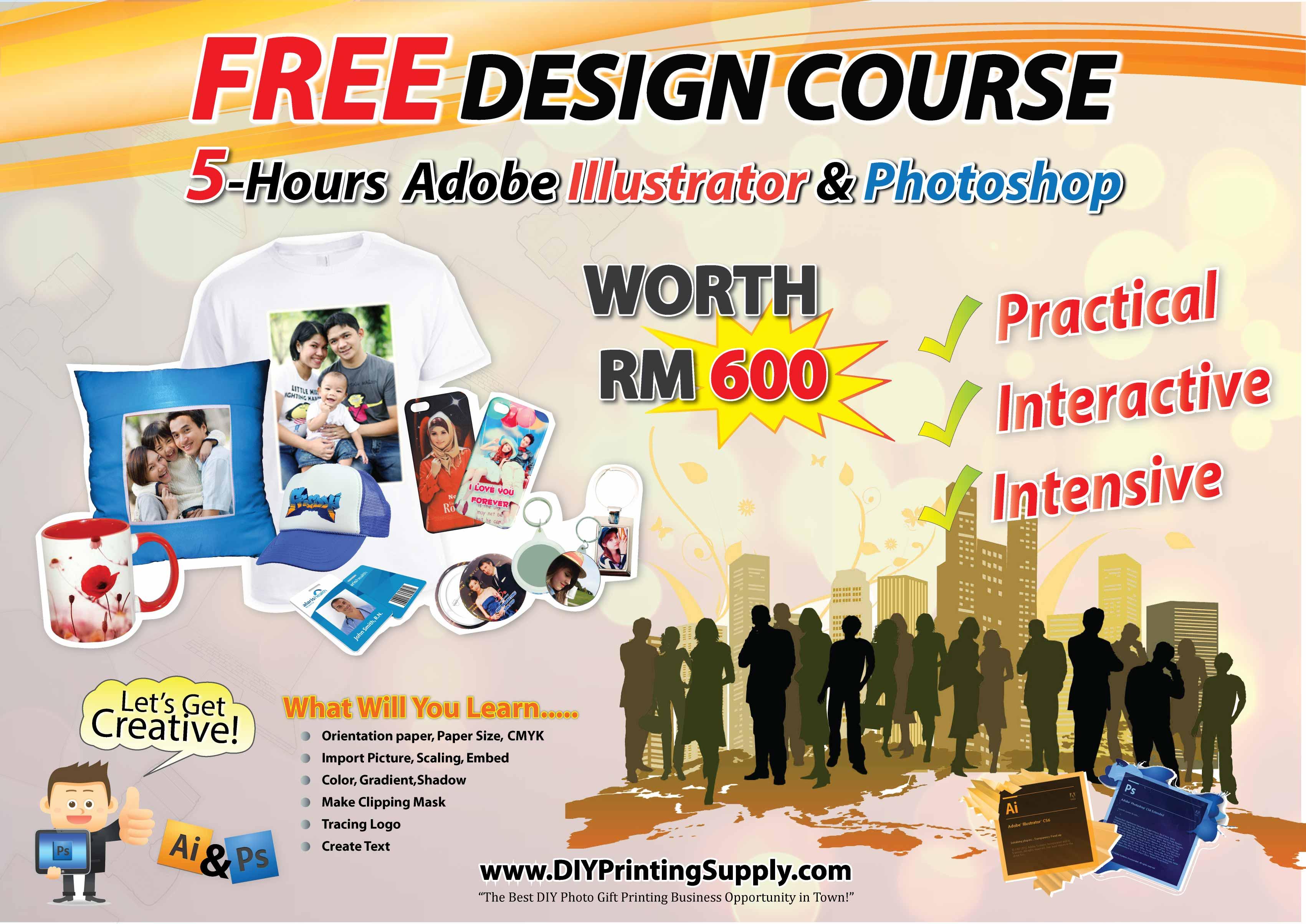 Superb Free Graphic Design Training With Diyprintingsupply Home Interior And Landscaping Mentranervesignezvosmurscom