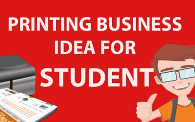 7 Printing Business Ideas for Students with low starter cost