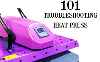 Having TROUBLE with your new heat press machine? Let us help you