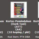 """""""Berita Baik : Transfer Paper (Dark-Based) Turun Harga"""""""
