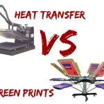 Silk Screen Printing vs. Heat Transfer Printing