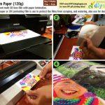 Produk Baharu: 3D Film Paper