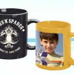 Jualan Penghabisan Stok: Mug berwarna untuk Percetakan Laser dengan menggunakan pencetak Oki.