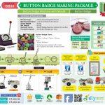 Perniagaan Cetakan Button Badge yang Menguntungkan