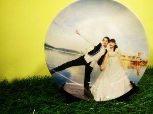 pinggan hiasan kahwin