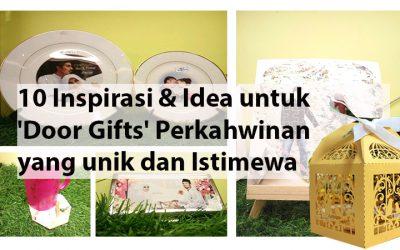 Malay blog informasi untuk bisnes for Idea untuk doorgift perkahwinan