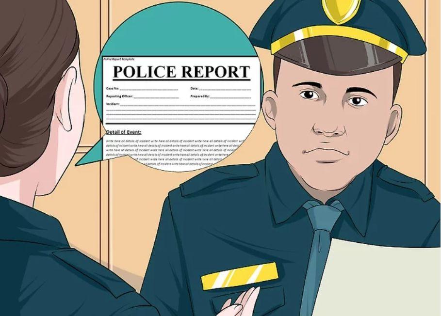 laporan polis ditipu peniaga online