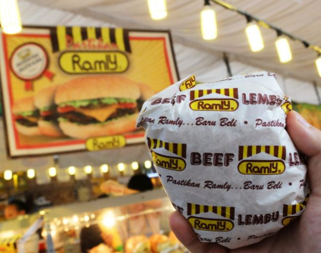 kiosk ramly burger