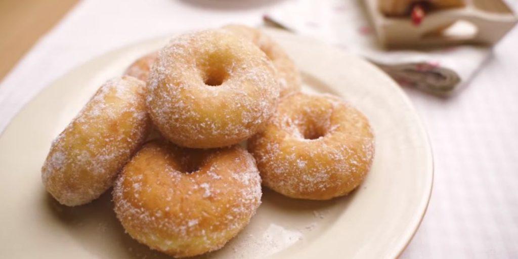 resepi donut lembut