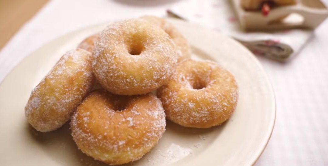 Resepi Donut Gebu Dan Lembut. Sesuai Untuk Buat Berniaga!