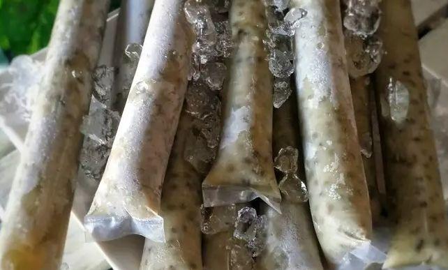 aiskrim kacang hijau